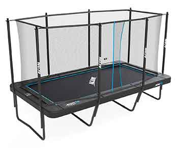 Acon Trampoline Air 16 Sport HD with Enclosure I Includes 10x17ft Rectangular Trampoline