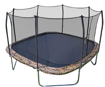 Skywalker-Trampolines-Square-Trampoline-and-Enclosure-with-Spring-Pad