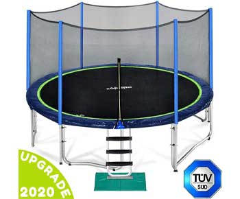 Zupapa-15-14-12-FT-TUV-Approved-Trampoline-with-Enclosure-net-and-Poles-Safety-Pad-Ladder