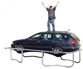 Happy-Trampoline---Galactic-Xtreme-Gymnastic-Rectangular-Trampoline-with-Net-Enclosure
